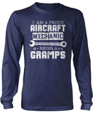 Proud Aircraft Mechanic - Nothing Beats Being a Gramps