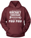 Proud Aircraft Mechanic - Nothing Beats Being a Paw Paw