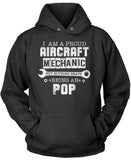 Proud Aircraft Mechanic - Nothing Beats Being a Pop T-ShirtProud Aircraft Mechanic - Nothing Beats Being a Pop Pullover Hoodie Sweatshirt