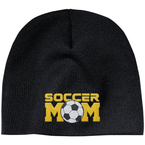 Soccer Mom - Embroidered Beanie