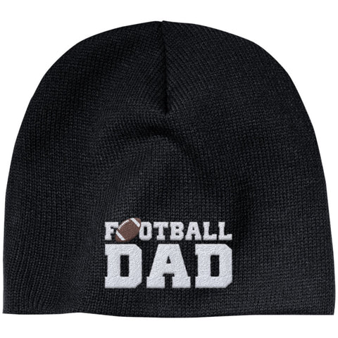 Football Dad - Embroidered Beanie