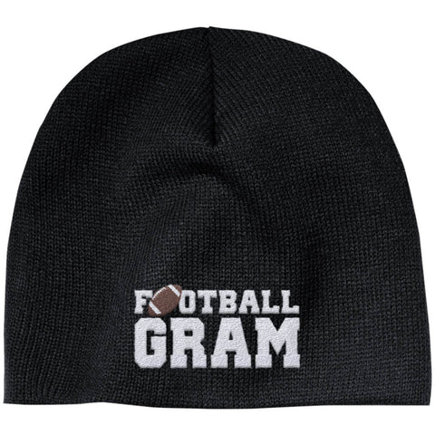 Football Gram - Embroidered Beanie