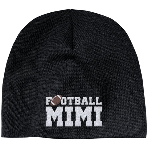 Football Mimi - Embroidered Beanie