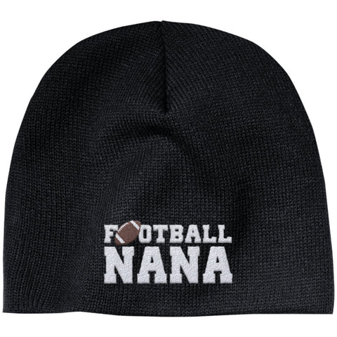 Football Nana - Embroidered Beanie