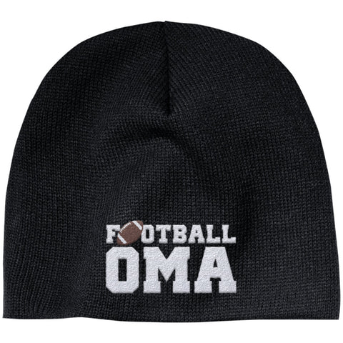 Football Oma - Embroidered Beanie