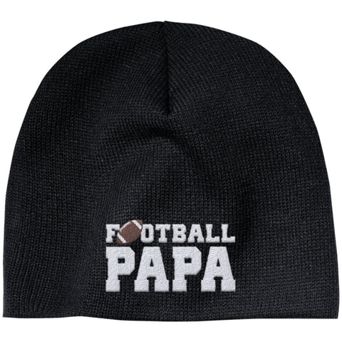 Football Papa - Embroidered Beanie