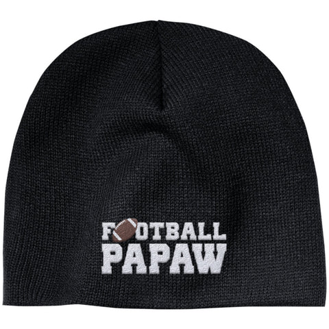 Football Papaw - Embroidered Beanie