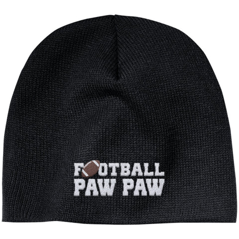 Football Paw Paw - Embroidered Beanie