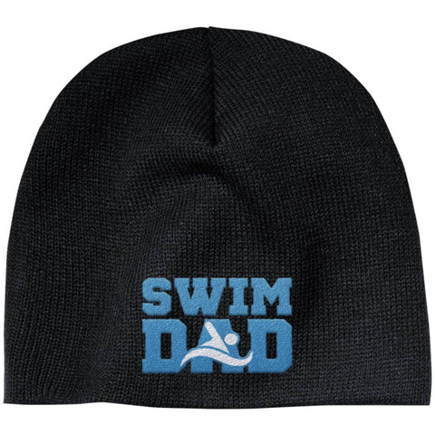 Swim Dad - Embroidered Beanie