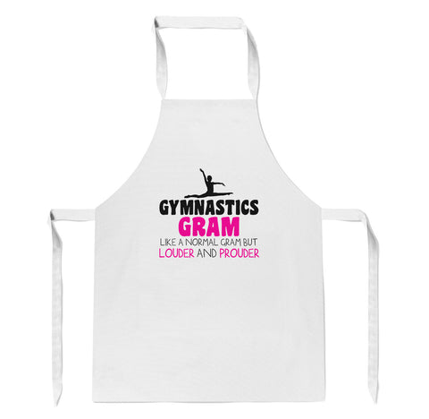 Loud and Proud Gymnastics Gram - Apron