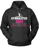 Loud and Proud Gymnastics Gigi Pullover Hoodie Sweatshirt