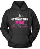 Loud and Proud Gymnastics Mimi Pullover Hoodie Sweatshirt