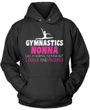 Loud and Proud Gymnastics Nonna Pullover Hoodie Sweatshirt
