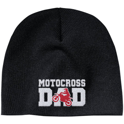 Motocross Dad - Embroidered Beanie