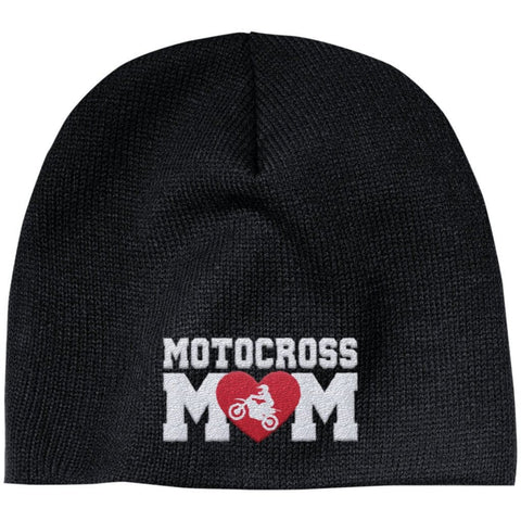 Motocross Mom - Embroidered Beanie