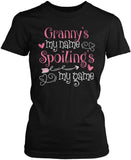 Granny's My Name Spoiling's My Game Women's Fit T-Shirt