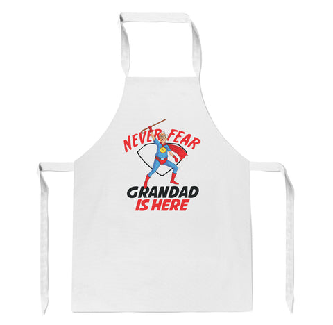 Never Fear Grandad Is Here - Apron