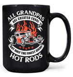 Only the Finest (Nickname)s Drive Hot Rods - Mug - Black / Large - 15oz