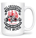 Only the Finest (Nickname)s Drive Hot Rods - Mug - White / Large - 15oz