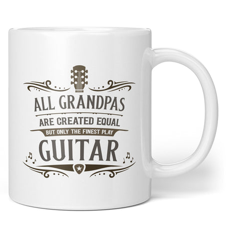 Only the Finest (Nickname) Play Guitar - Personalized Mug / Tea Cup