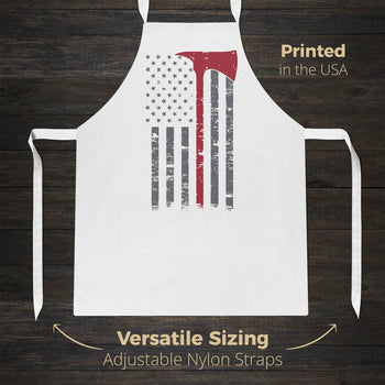 Firefighter Thin Red Line - Apron - Aprons