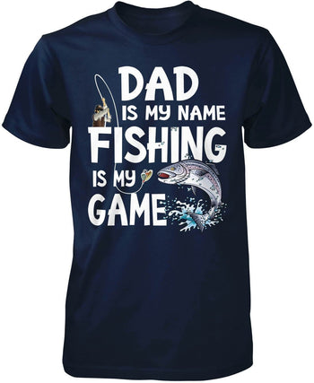 Fishing's My Game - Personalized T-Shirt - T-Shirts
