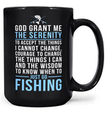 Fishing Serenity - Mug - Coffee Mugs