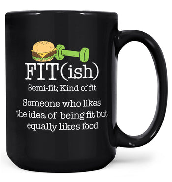 FIT(ish) - Mug - Coffee Mugs