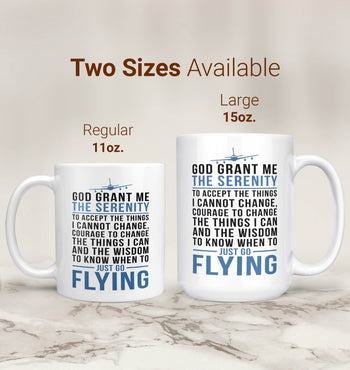 Flying Serenity - Mug - Coffee Mugs
