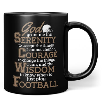 Football Serenity - Mug - Coffee Mugs