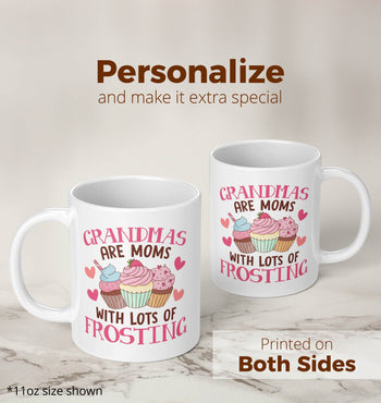 (Nickname) Are Moms with Lots of Frosting - Mug - Coffee Mugs