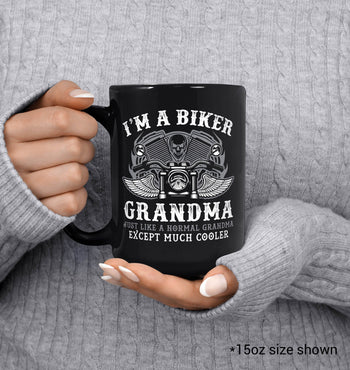 I'm a Cool Biker (Nickname) - Personalized Mug - [variant_title]