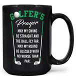A Golfer's Prayer - Mug - Coffee Mugs