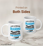 Proud Grandma of An Awesome Swimmer - Mug