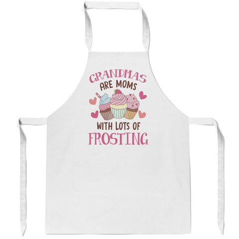(Nickname) Are Moms with Lots of Frosting - Apron - Aprons