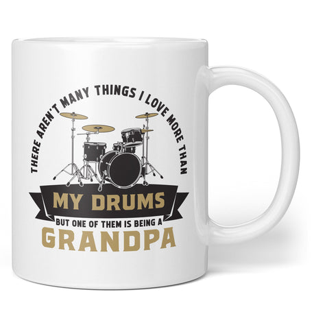 This (Nickname) Loves Drums - Personalized Mug