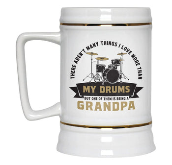 This (Nickname) Loves Drums - Personalized Beer Stein - [variant_title]