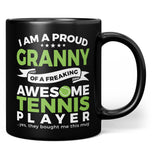 Proud Granny of An Awesome Tennis Player - Mug