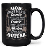 Guitar Serenity - Mug - Coffee Mugs