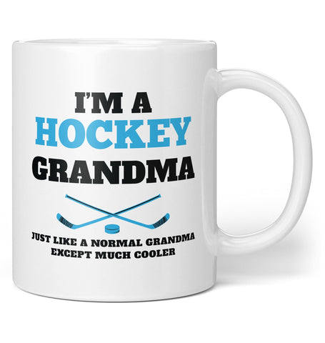 I'm a Hockey (Nickname) Except Much Cooler- Personalized Mug / Tea Cup
