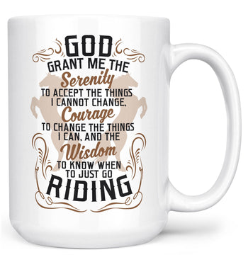 Horse Riding Serenity (Special Edition) - Mug - Coffee Mugs