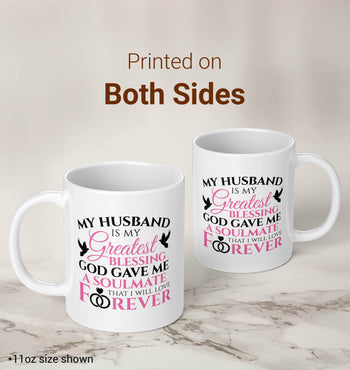 My Husband Is My Greatest Blessing - Mug - [variant_title]