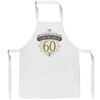 I Look This Good at (Age) - Personalized Apron - Aprons