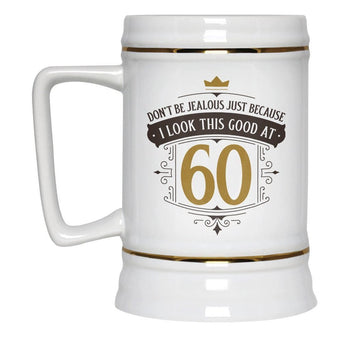 I Look This Good at (Age) - Personalized Beer Stein - Beer Steins