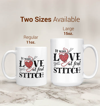 It Was Love At First Stitch - Mug - [variant_title]