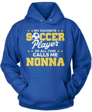 My Favorite Soccer Player Calls Me Nonna