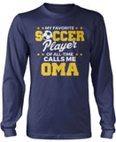 My Favorite Soccer Player Calls Me Oma