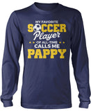 My Favorite Soccer Player Calls Me Pappy