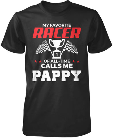 My Favorite Racer Calls Me Pappy