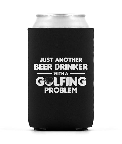 Beer Drinker With a Golfing Problem - Can Cooler